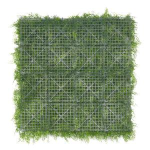 plaque de mur végétal fougère