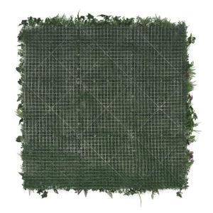 plaque de murs végétaux tropicaux