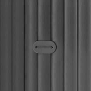 canisse PVC anthracite double face