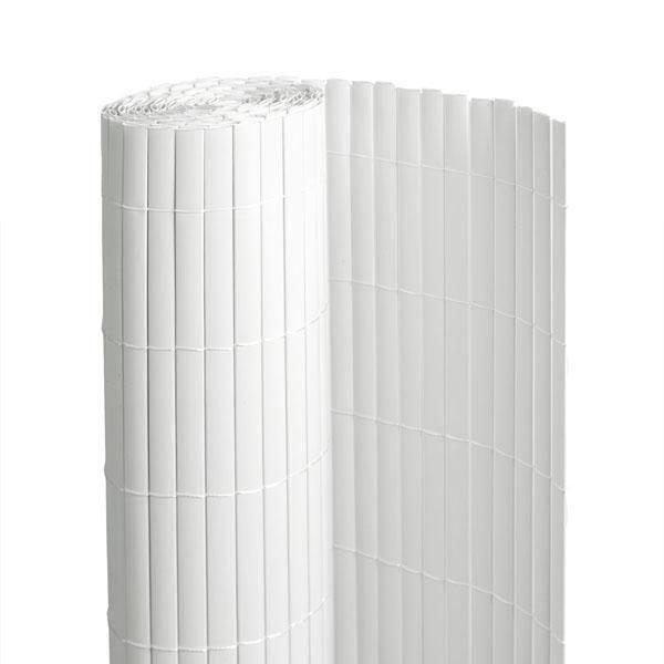 canisse blanche PVC double face