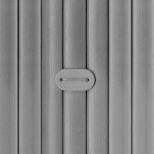 canisse PVC gris double face