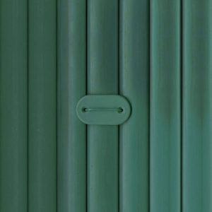 canisse PVC vert double face