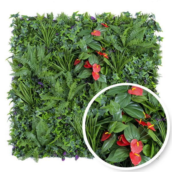 grossiste feuillages artificiels et murs végétaux