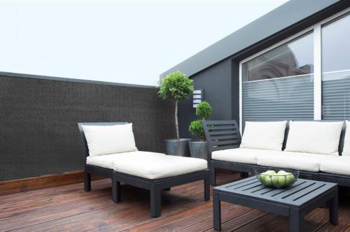 brise vue gris anthracite occultation totale france green. Black Bedroom Furniture Sets. Home Design Ideas